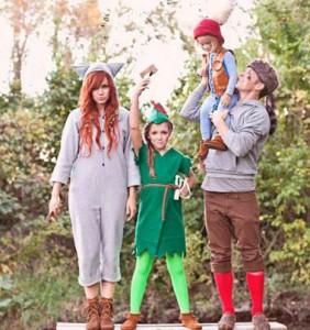Ideas originales para disfrazarse en la familia