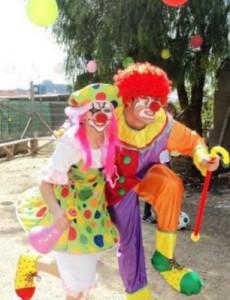 Algunos juegos que hacen los payasos en las fiestas infantiles