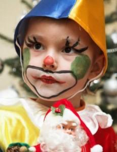El mejor disfraz y maquillaje de payaso para niños