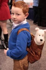 Fotos graciosas de disfraces para los niños