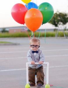 Fotos graciosas de disfraces para niños.