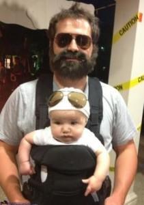Padres e hijos disfrazados