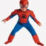 Disfraz fácil de Spiderman para niño