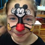 5 pintacaras fáciles de Disney