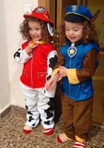 Disfraces faciles de la patrulla canina para halloween