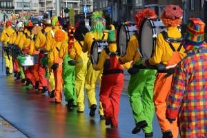 Disfraces de payasos novedosos para carnaval 2017