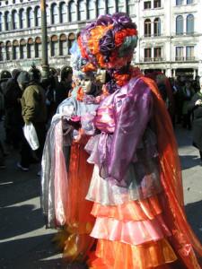 Los mejores trajes del carnaval de Venecia 2017