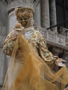 Los más lujosos trajes del carnaval de Venecia