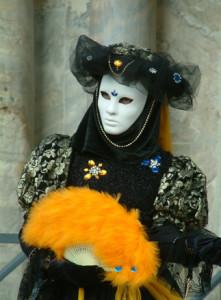 Disfraces masculinos del carnaval de Venecia