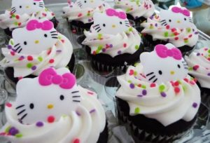 Cup cakes para fiestas infantiles